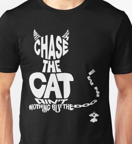 Chase the Cat - Cloud Nine (White) Unisex T-Shirt
