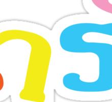 Cute / Narak in Thai Language Script Sticker