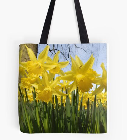Daffodils 2 by Amber Feng Shui Art Tote Bag