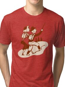 Hike Hiking Vintage Tri-blend T-Shirt