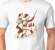 Hike Hiking Vintage Unisex T-Shirt