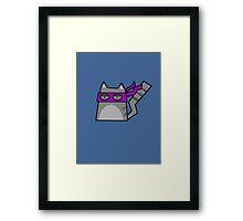 Donatello Teenage Mutant Ninja Kitty Framed Print