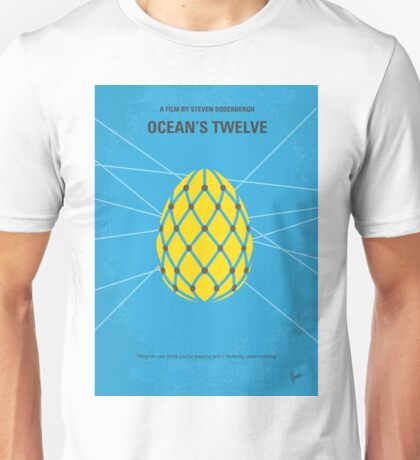 No057 My Oceans 12 minimal movie poster Unisex T-Shirt