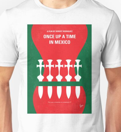 No058 My once upon a time in mexico minimal movie poster Unisex T-Shirt