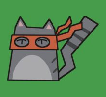 Michaelangelo Teenage Mutant Ninja Kitty by Rjcham