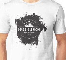 Rock Climbing Boulder Colorado Unisex T-Shirt