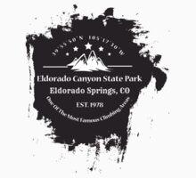 Rock Climbing Eldorado Canyon State Park by SportsT-Shirts
