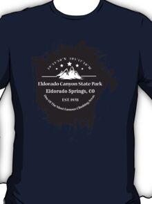 Rock Climbing Eldorado Canyon State Park T-Shirt