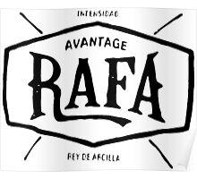 """Rafael Nadal """"rey de arcilla"""" Poster"""