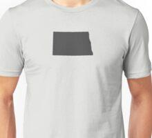 North Dakota Plain Unisex T-Shirt