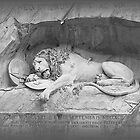 Dying Lion of Lucerne - Löwendenkmal (2) by PrivateVices