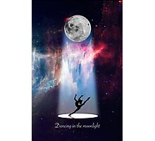 Dancing in space Photographic Print