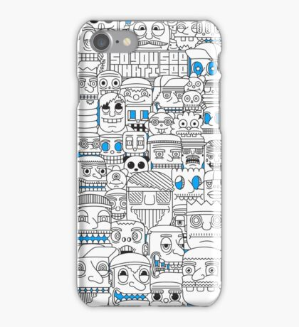 Faces on a case... iPhone Case/Skin