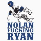 Nolan Fucking Ryan - One of the Greatest Pitchers of All Time Hammering Robin Ventura by Kelmo