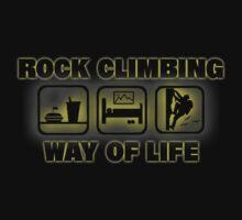 Rock Climbing Way Of Life Kids Clothes