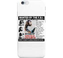 Police Report  iPhone Case/Skin