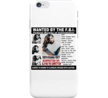 Police Report  iPhone Case/Skin