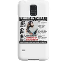 Police Report  Samsung Galaxy Case/Skin