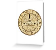 Bill Cipher - Gravity Falls Greeting Card