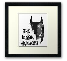 The Dark Knight Framed Print