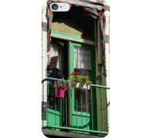 Green Balcony iPhone Case/Skin