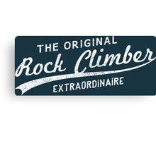 Original Rock Climber Extraordinaire Canvas Print