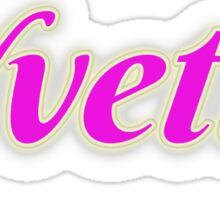 Yvette Sticker