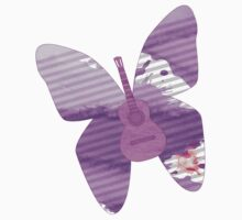 acoustic butterfly  Kids Clothes