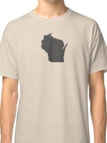 Wisconsin Plain Classic T-Shirt