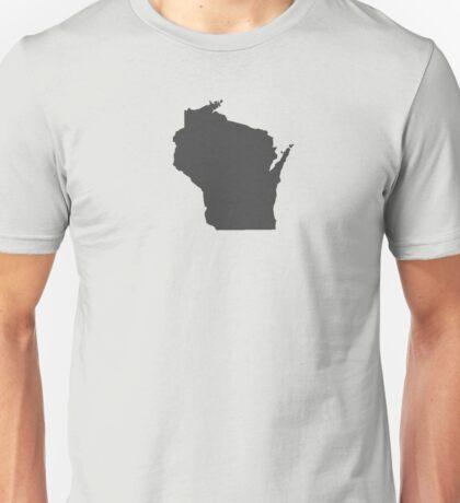 Wisconsin Plain Unisex T-Shirt