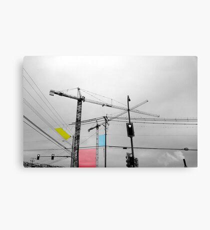 Industrial Evolution Canvas Print