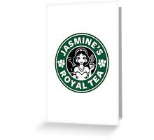 Jasmine's Royal Tea Greeting Card
