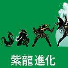 Shiryu Evolution by Samiel
