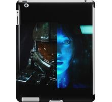 Master Chief and Cortana iPad Case/Skin