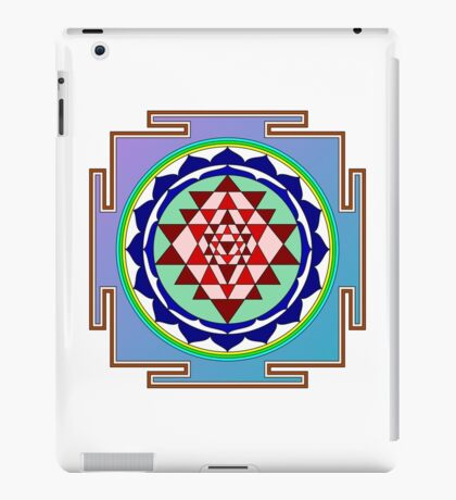 Sri Yantra iPad Case/Skin