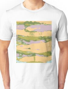 Abstract Expressionist Paint Print Unisex T-Shirt
