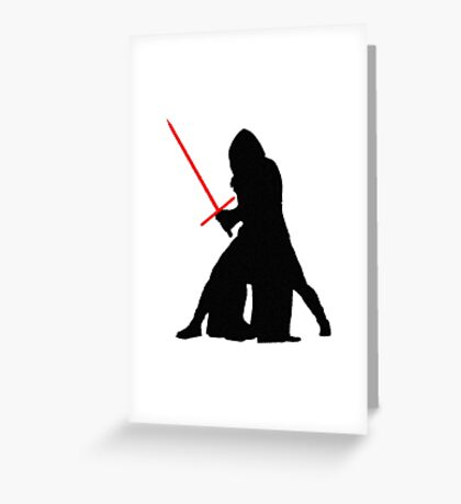 Star Wars - Jedi Killer Greeting Card