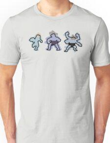 Machop trio Unisex T-Shirt