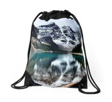 Moraine Lake Drawstring Bag