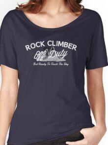 Rock Climber Off Duty Women's Relaxed Fit T-Shirt