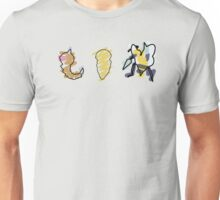 Weedle, Kakuna, Beedrill Unisex T-Shirt