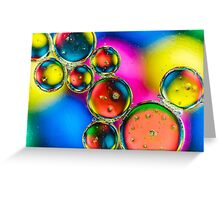 Oil & Water 3 Greeting Card