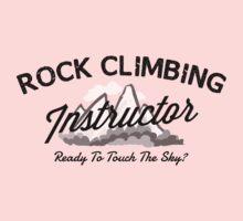 Rock Climbing Instructor Kids Clothes