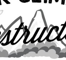 Rock Climbing Instructor Sticker
