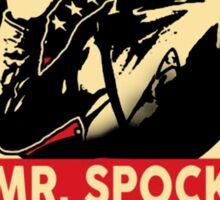 Spock for President Sticker