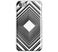 abstract futuristic square pattern iPhone Case/Skin