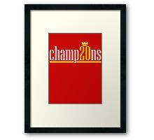 Champ20ns Framed Print