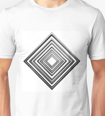 abstract rhombus pattern Unisex T-Shirt
