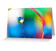 Oil & Water 2 Greeting Card