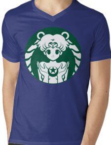 Moonbucks Mens V-Neck T-Shirt